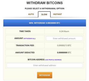 freebitcoin提款頁面-慢速提領