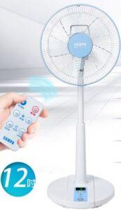 SAMPO聲寶-12吋微電腦遙控DC直流電風扇SK-FA12DR