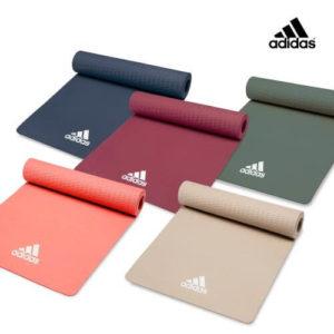 【Adidas愛迪達】Yoga-輕量波紋瑜珈墊